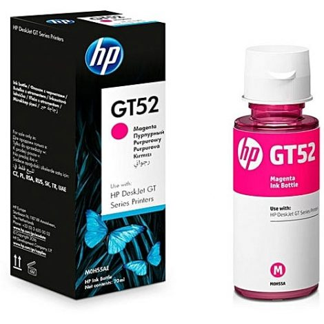 HP GT52 Magenta Original Ink Bottle 70ml 8000 Pages (M0H55AE)