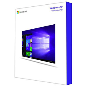 Microsoft windows 10 pro Win32 Français Licence OEM DVD