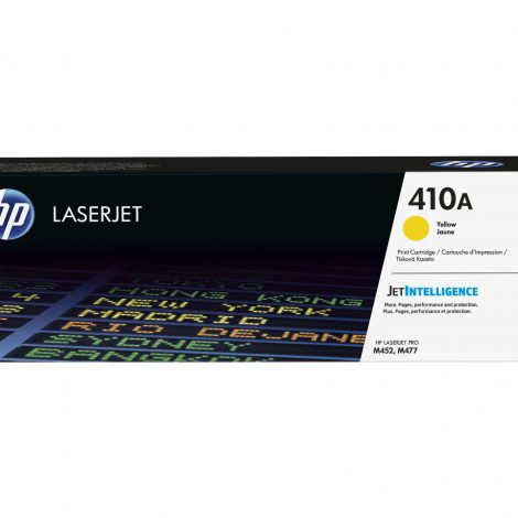 HP 410A JAUNE LASERJET TONER CARTRIDGE