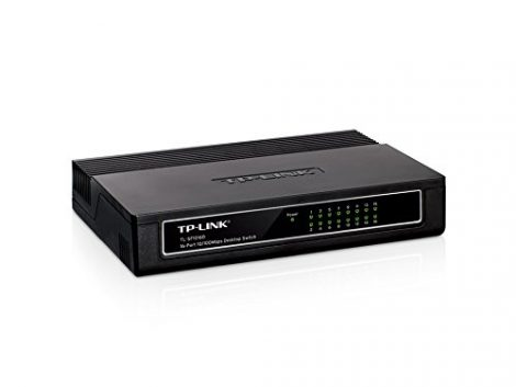 TP-Link TL-SF1016D Switch 16 Ports 100Mbps