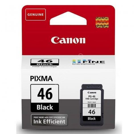 CANON PG-46 Ink Efficient Black (9059B001AA)