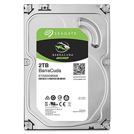 "SEAGATE Disque dur interne 3.5"" 2To, 7200 TPM (ST2000DM006)"
