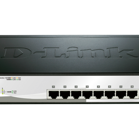 D-LINK switch 8 port 1000Mbps