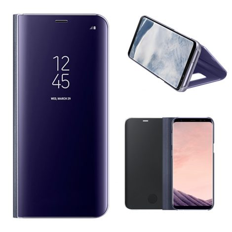 SAMSUNG CLEAR VIEW COVER POUR S8 PLUS VIOLET