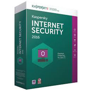 Kaspersky Internet Security 2016 pour PC 1 poste