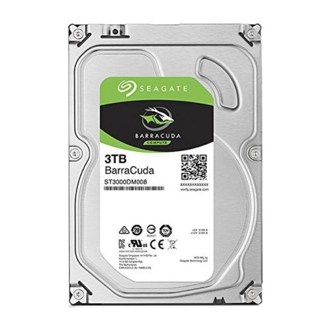 "SEAGATE Disque dur interne 3.5"" 1To, 7200 TPM (ST1000DM010) (HDDSEA006)"