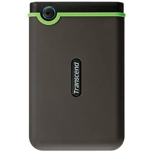 "TRANSCEND Disque dur externe 2.5"" 2To USB 3.0 Anti-choc Black (TS2TSJ25M3)"