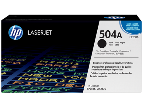 TONER HP CE250A 504A BLACK