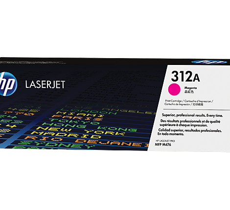 HP 312A Magenta LaserJet Toner Cartridge