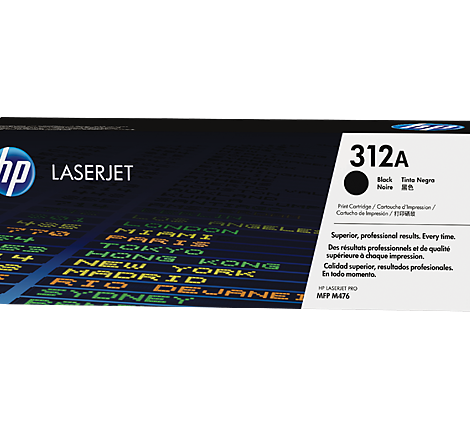 HP 312A Black LaserJet Toner Cartridge