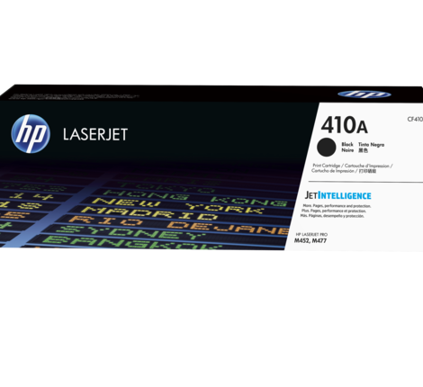 HP 410A BLACK LASERJET TONER CARTRIDGE
