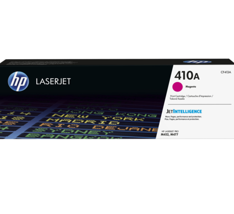 HP 410A MAGENTA LASERJET TONER CARTRIDGE