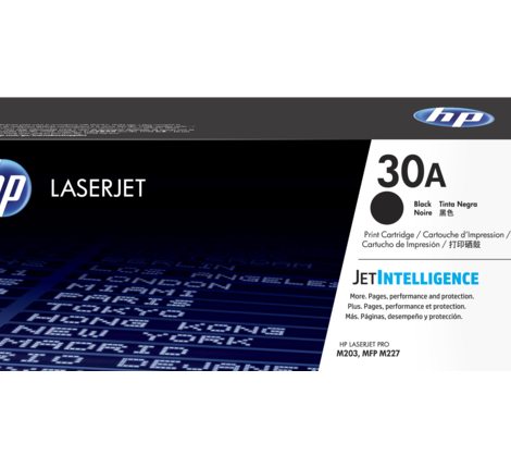 HP 30A Black LaserJet Toner Cartridge