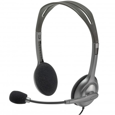 LOGITECH Stereo Headset H111 Single 3.5 mm jack (981-000593)