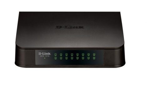 DLINK SWITCH 16 ports 10/100Mbps