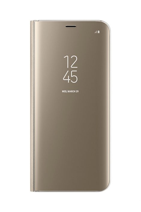 SAMSUNG CLEARá VIEW COVER POUR S8 PLUS GOLD