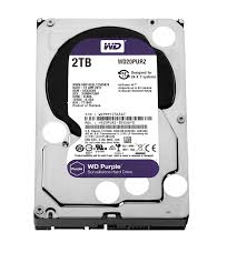 "WESTERN DIGITAL Disque dur interne 3.5"" 2To, Purple (surveillance) (WD20PURZ)"