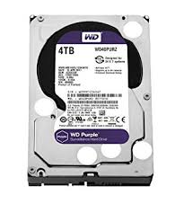 "WESTERN DIGITAL Disque dur interne 3.5"" 4To, Purple (surveillance) (WD40PURZ)"
