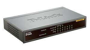 D-LINK Switch POE 8-Port 10/100Mbps Desktop