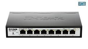 D-LINK switch 8-port POE