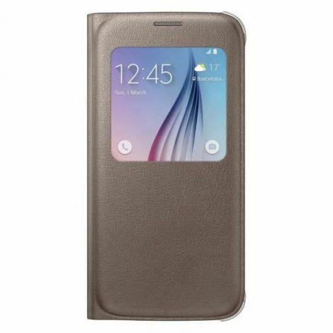 Samsung etui S VIEW pour S6 OR